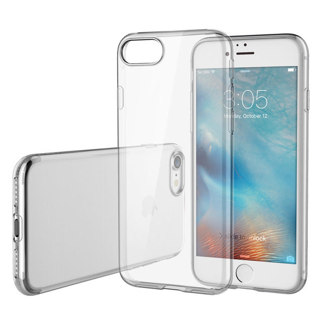 iPhone XR Case - Soft - Clear