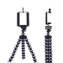 Load image into Gallery viewer, Tripod Holder for Phones Black