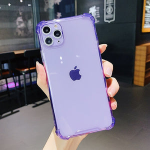 iPhone 11 Pro Max Case - Soft - Fluorescent Purple