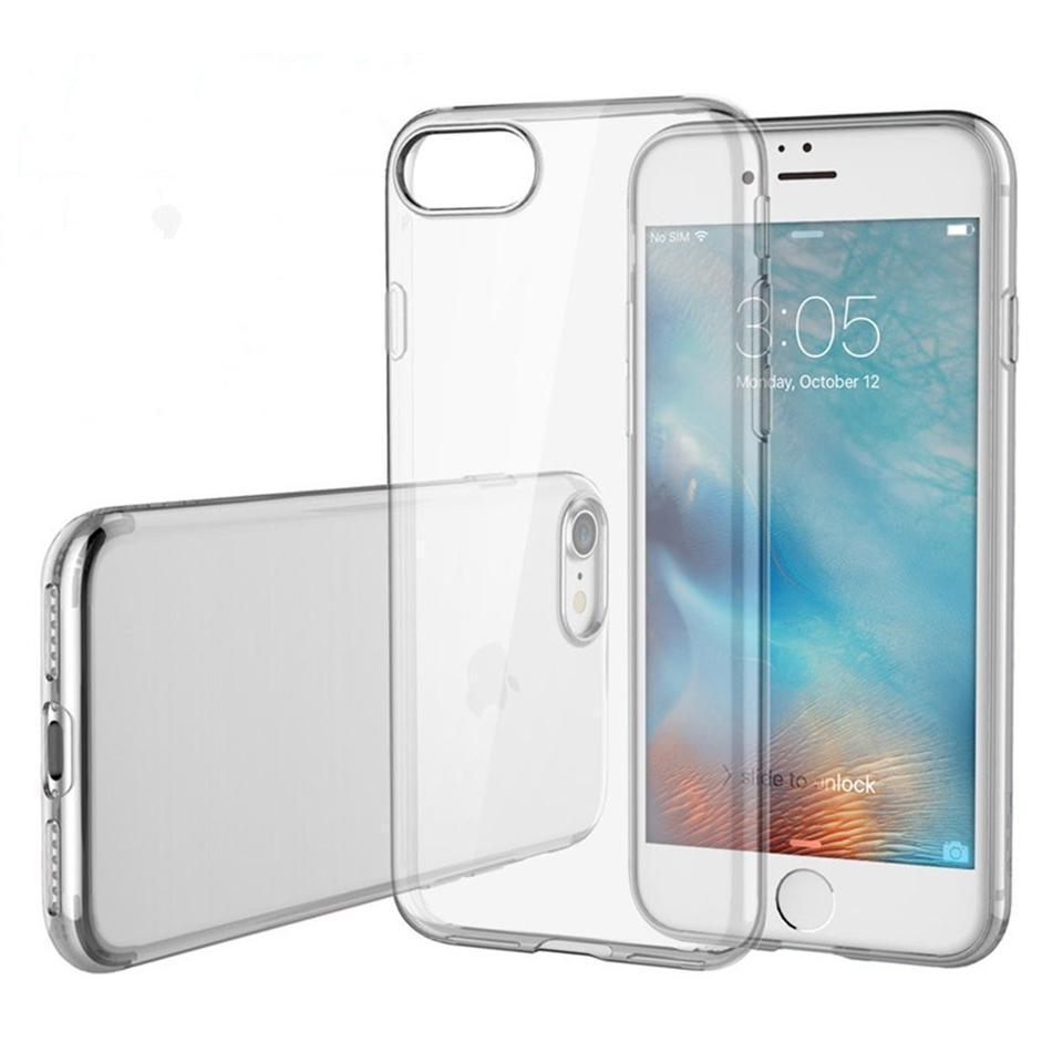Clear Silicon Case For iPhone 6 Plus & 6s Plus