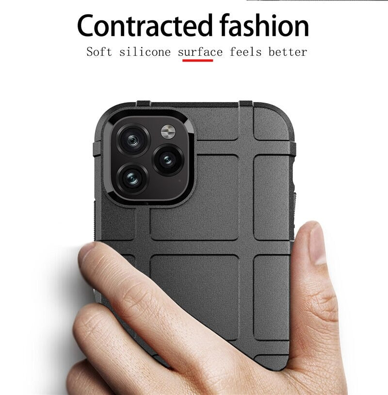 iPhone X/ XS Case - Rugged Shield - Black