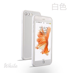 iPhone X/ XS Case - Full Body Box - White