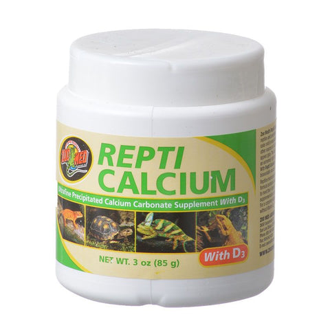 Zoomed Reptil Calcium con D3 85 gr