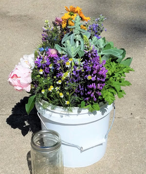 Bulk Flower and Greenery Bucket, Florist's Choice
