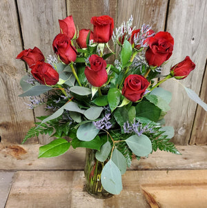 Rose Bouquet, Tall-Stemmed Dozen
