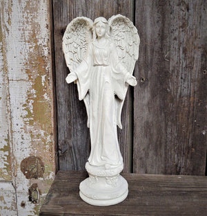 Memorial Garden Resin Angel