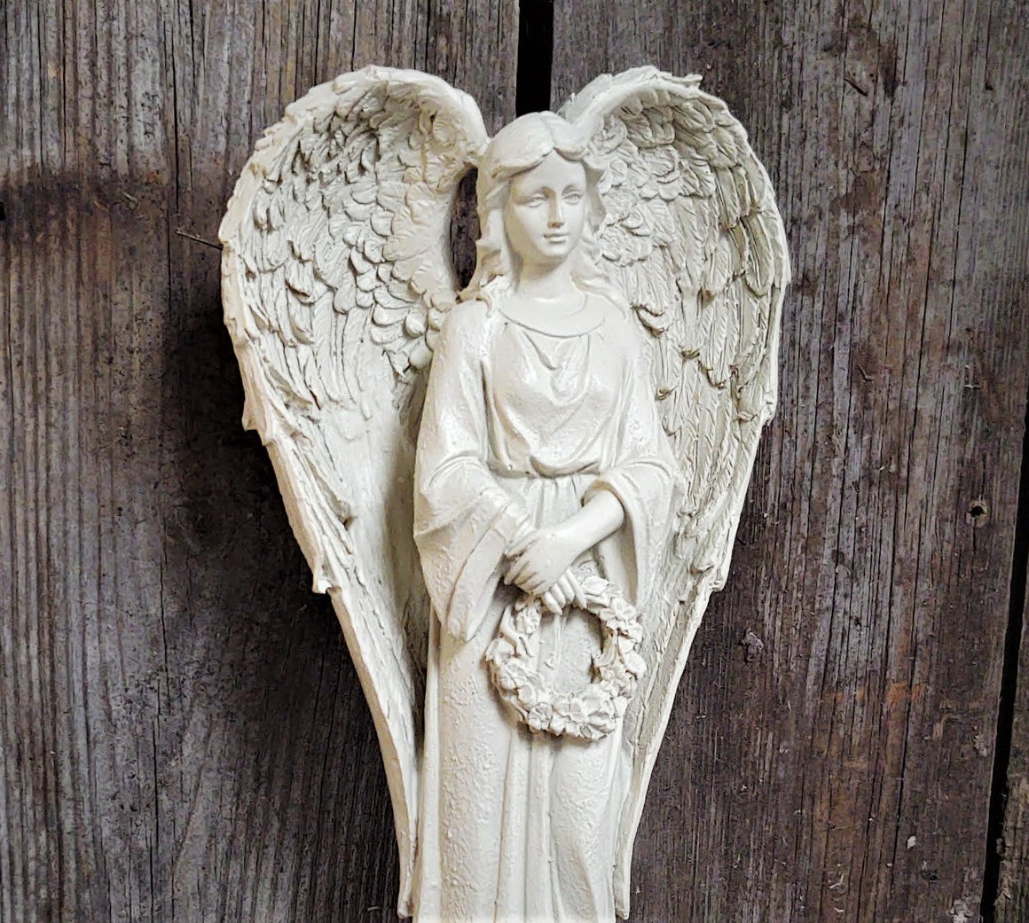 Memorial Garden Angel, Resin