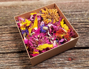 Dried Flower Confetti - Summer in a Box