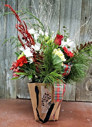 Holiday Flower Bouquet