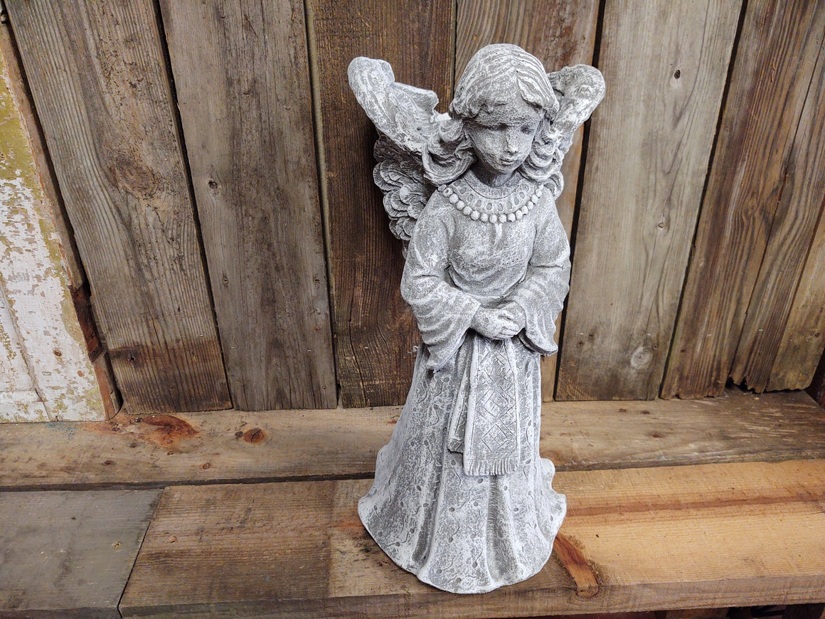 Memorial Garden Angel Planter