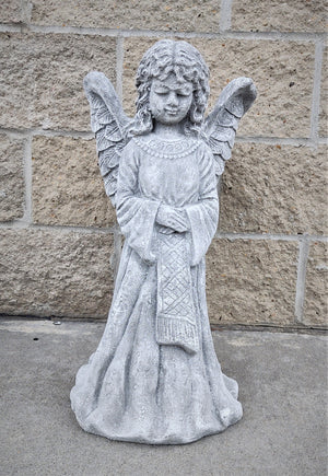 Tall Memorial Flower Pot Angel