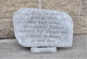 Memorial Garden Stone, Those We Love