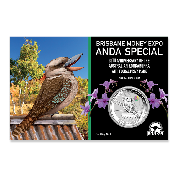 Australian Kookaburra Bullion Coin in packaging