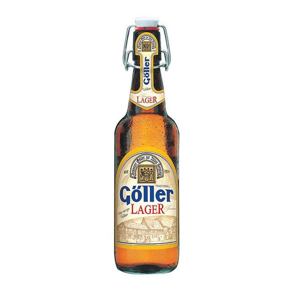 Goller Cerveza Alemana Lager de 500 ml. 4.9% Alc. by Vol.
