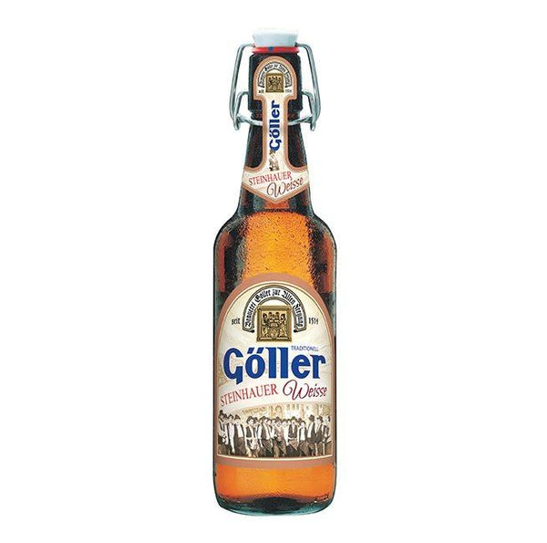 Goller Cerveza Alemana de 500 ml. Weisse 5.2% Alc. by Vol.
