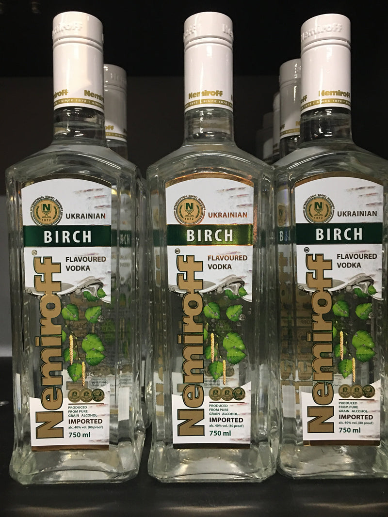 Nemiroff Birch Vodka 750ml.