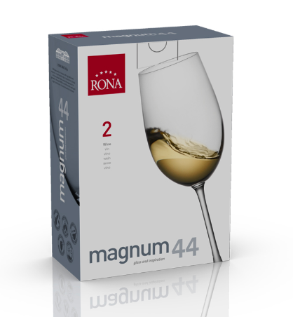 "COPA RONA MAGNUM Art. No. 3276 440 Wine 440ml 16oz  H 238mm 9 ¼""  D 84mm 3 ¼"""