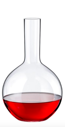 "RONA DECANTER WINE BOTTLES   Art. No. 5639 2400  Maipo  2400ml 81¼oz  H280mm 11 "" D172mm 6¾"""