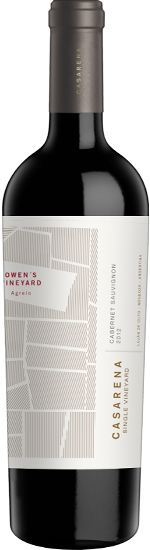 CASARENA SINGLE VINEYARD Agrelo Owen's vineyard Cabernet Sauvignon