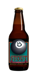 Lost Coast Cerveza Artesanal 8 Ball Stout 12 Onz. Stout 5.80% Alc.By Vol.