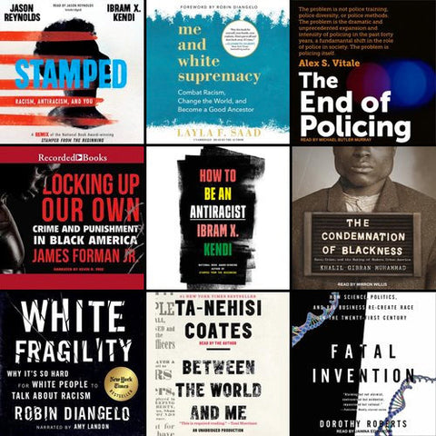 How to Be An Anti-Racist Audiobook Selections
