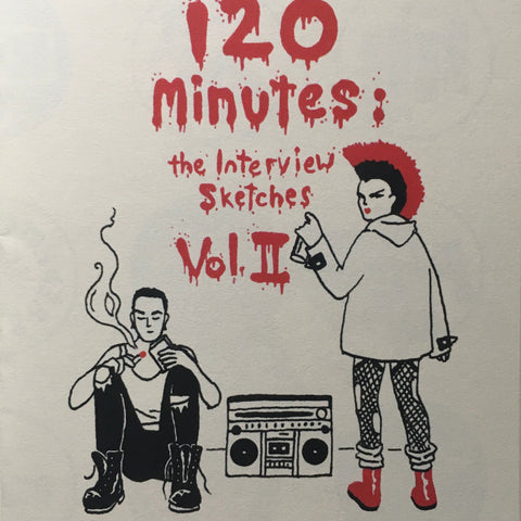 """120 Minutes: The Interview Sketches Vol. II"" by Derek Marks"