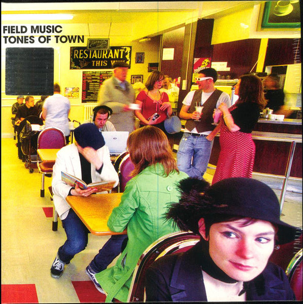 "Field Music ""Tones of Town"" LP RE YELLOW (2017)"