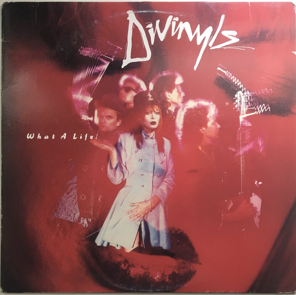 "Divinyls, ""What A Life!"" Promo LP (1985). Front cover image. Pop and heavy rock, alternative rock."
