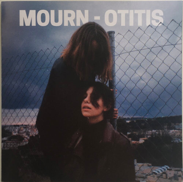 "Mourn, ""Mourn"" LP and ""Otitis"" Single and Pin Bundle pack. Otitis front image. Captured Tracks. Catalan punk."