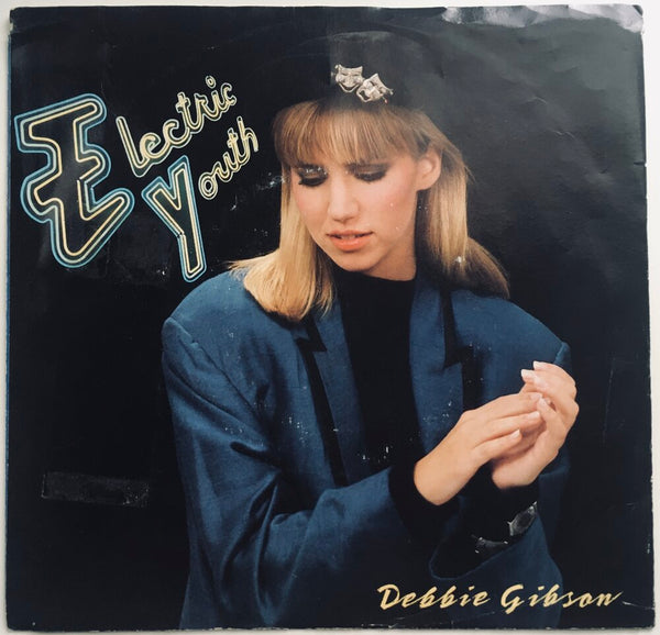 "Debbie Gibson, ""Electric Youth"" Single (1989). Front cover image. Pop, dance, electronic."