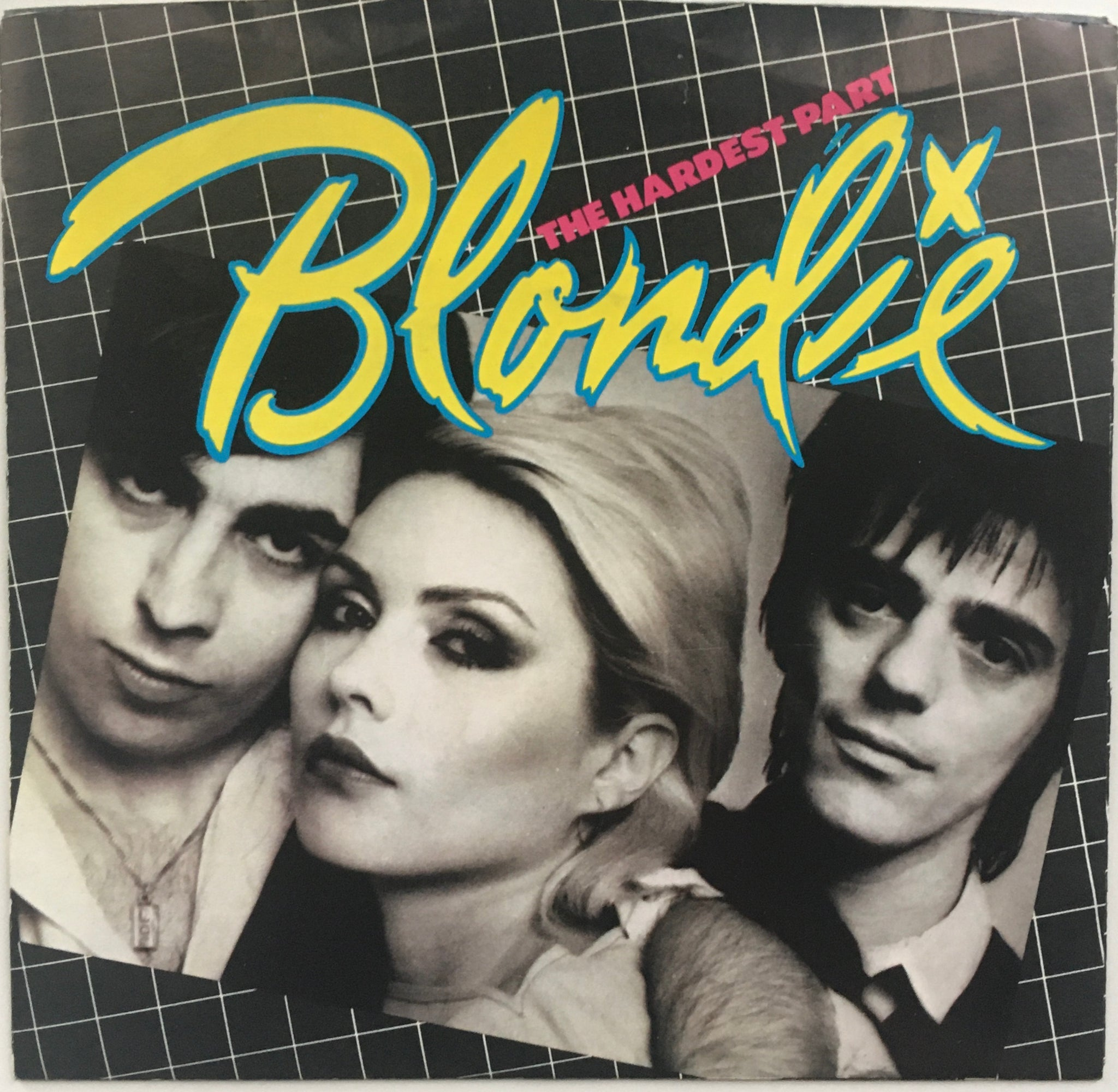 "Blondie, ""The Hardest Part"" Single (1979). Front cover image. Pop-punk, power pop. Punk."