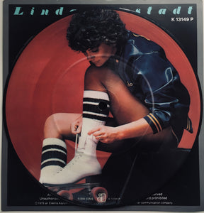 "Linda Ronstadt, ""Alison"" Single (1978). Picture disc image. Pop-rock, power-pop, country-rock, rhythm and blues."