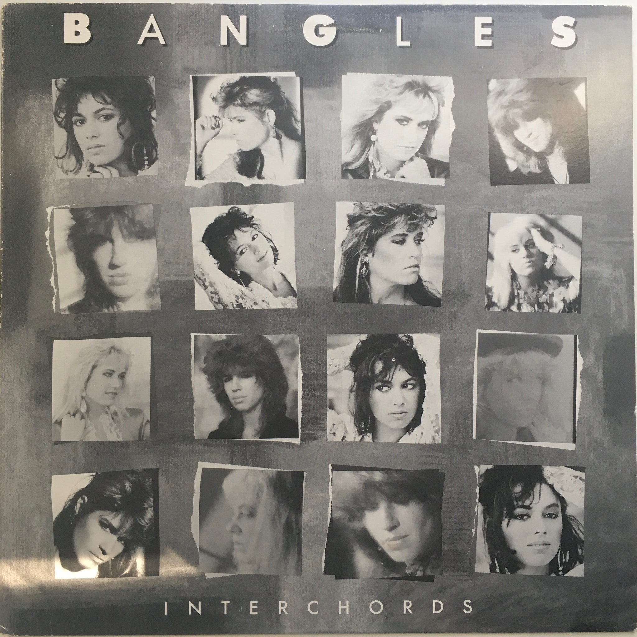 "The Bangles, ""Interchords"" Interview LP (1988). Front cover image. Pop, power-pop, interview accompaniment via Interchords series to Different Light."