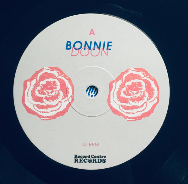 "Bonnie Doon, ""Dooner Nooner"" LP (2017). Record label sticker image. Canadian experimental post-punk dance and garage-surf! Excellent debut album from this group!"