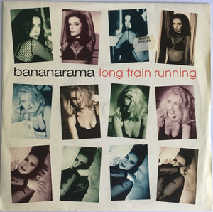 "Bananarama, ""Long Train Running"" Import Single (1991). Front cover image. Pop, euro-synth, flamenco. A-side is a collaboration with Gipsy Kings."