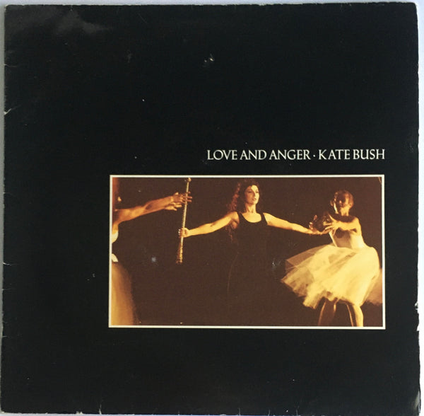 "Kate Bush, ""Love And Anger"" Single Booklet (1990). Front page image (booklet front). Pop, dance, progressive, orchestral."