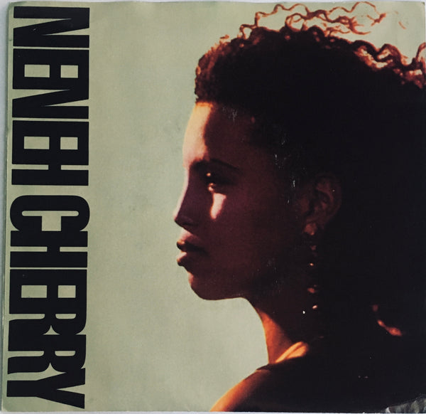 "Neneh Cherry, ""Manchild"" Single (1988). Front cover image. Pop, rap, dance-electronic, experimental."