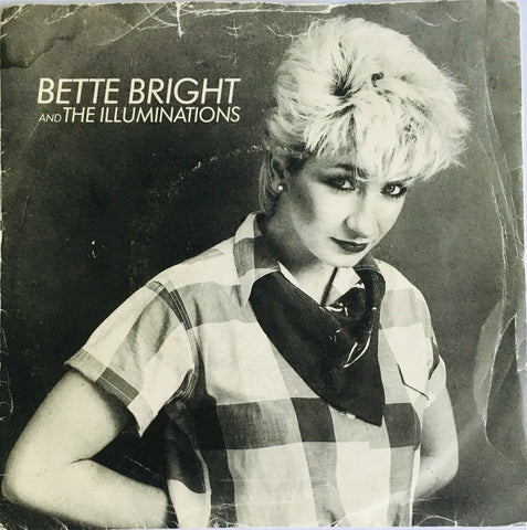 "Bette Bright And The Illuminations ""Some Girls Have All The Luck"" Single (1981)"