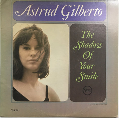 "Astrud Gilberto ""The Shadow Of Your Smile"" Mono LP (1965)"