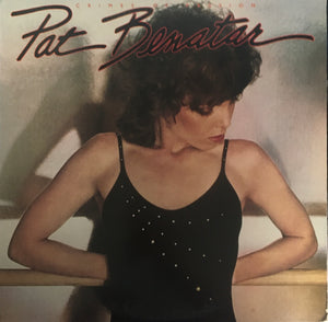 "Pat Benatar ""Crimes of Passion"" LP (1980)"