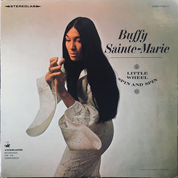 "Buffy Sainte-Marie ""Little Wheel Spin and Spin"" LP (1966)"