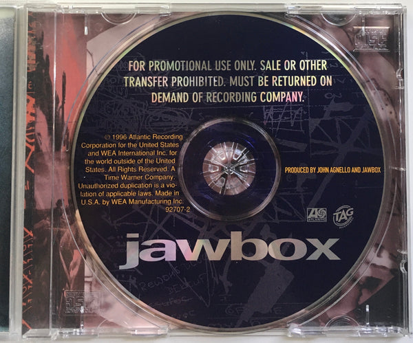 Jawbox Self-Titled Promo CD (1996)