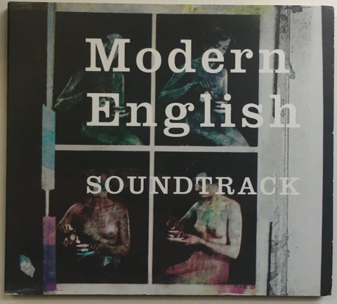 "Modern English ""Soundtrack"" CD Digipak Promo (2010)"