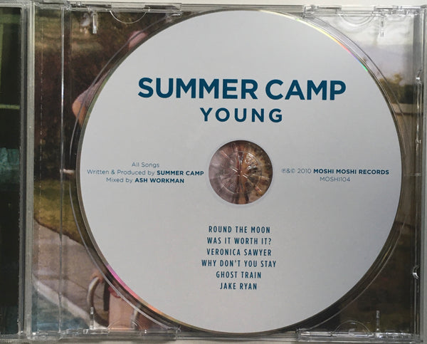 "Summer Camp ""Young"" CD EP (2010)"