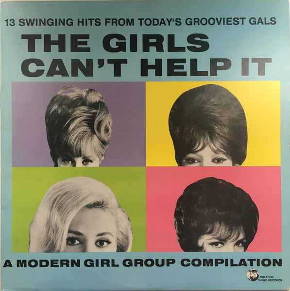 "Various ""The Girls Can't Help It"" LP COMP (1984)"