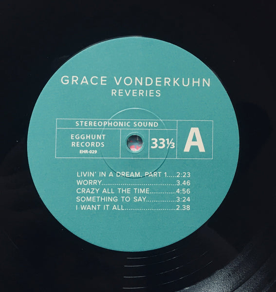 "Grace Vonderkuhn ""Reveries"" LP (2018)"