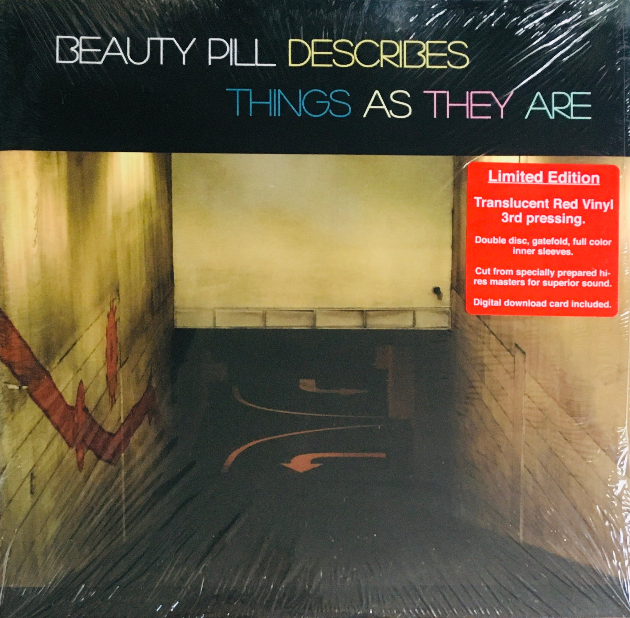 "Beauty Pill ""Describes Things As They Are"" LP RE (2015)"