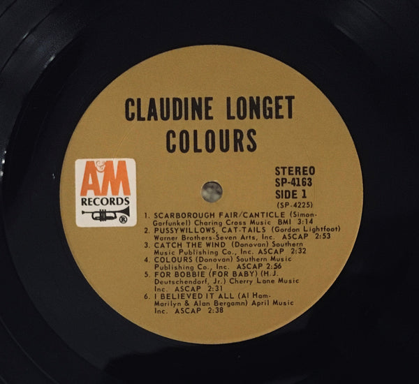 "Claudine Longet ""Colours"" LP (1968)"
