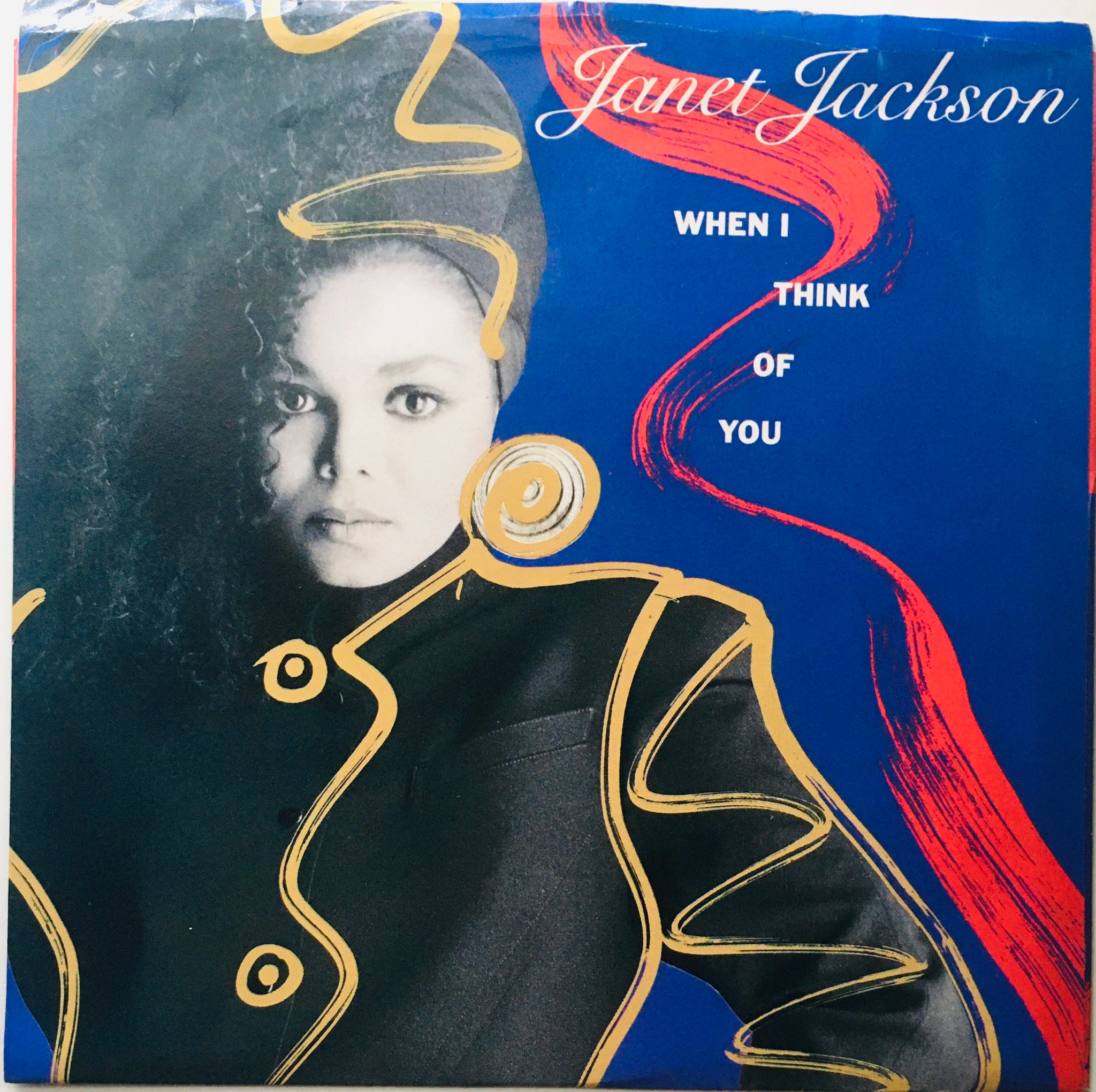 "Janet Jackson ""When I Think Of You"" Single (1986)"