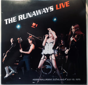 "The Runaways ""Live"" LP (2015)"